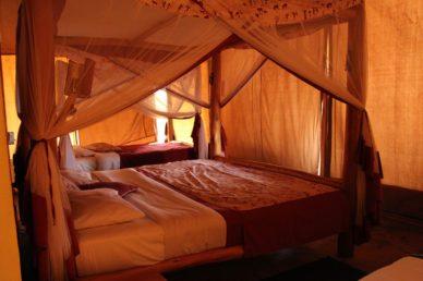 Tenda presso campo tendato Manyatta