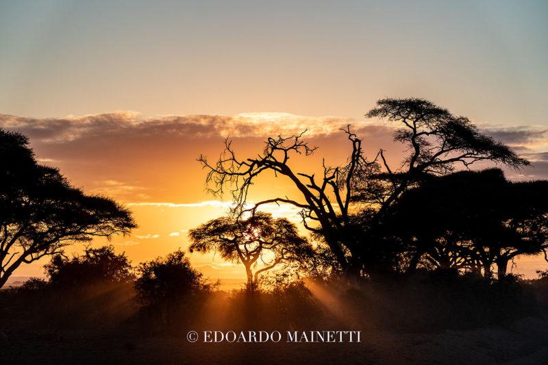 tramonto amboselinationalpark